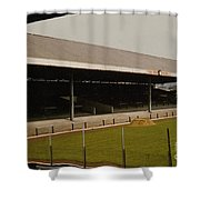 Swansea - Vetch Field - South Stand 2 - 1970s Shower Curtain
