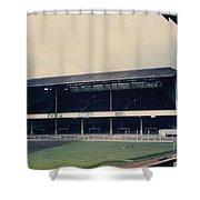 Swansea - Vetch Field - West Terrace 3 - 1970s Shower Curtain