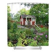 Swedish House Shower Curtain