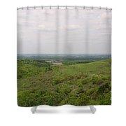 Sweeping Vista II Shower Curtain