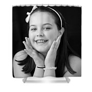 Sweet And Innocent Shower Curtain
