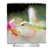 Sweet Angel Shower Curtain