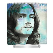 Sweet Baby James Shower Curtain