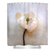 Sweet Bay Magnolia Bloom Shower Curtain