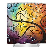 Sweet Blossom By Madart Shower Curtain