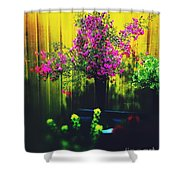 Sweet Boronia Shower Curtain