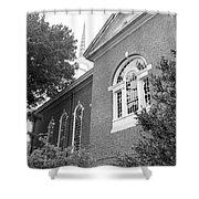 Sweet Briar Chapel Shower Curtain