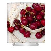 Sweet Cherry  Shower Curtain