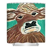 Sweet Cow Shower Curtain