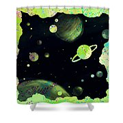 Sweet Dreams And Starry Nights Shower Curtain