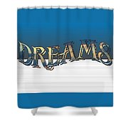 Sweet Dreams Part 2 20x14 Pillow Shower Curtain