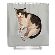Sweet Cat Shower Curtain