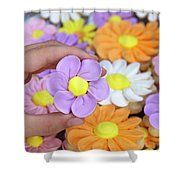 Sweet Floral Array Shower Curtain