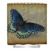 Sweet Flutterby Shower Curtain
