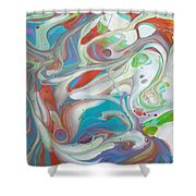 Sweet Fragrance  Shower Curtain