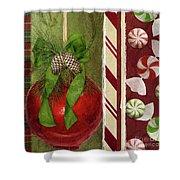 Sweet Holiday II Shower Curtain