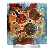 Sweet Inclination Shower Curtain