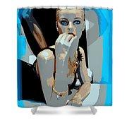 Sweet Judy Blue Eyes Shower Curtain