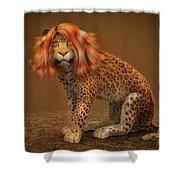 Sweet Lady Leopard Shower Curtain