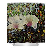 Sweet Magnolias Shower Curtain