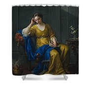 Sweet Melancholy Shower Curtain