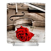 Sweet Music Shower Curtain