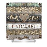 Sweet Paradise Series Shower Curtain