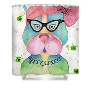 Sweet Pea Shower Curtain
