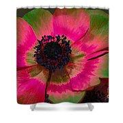 Sweet Poppy Seed Shower Curtain
