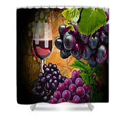 Sweet Red Wine # 3 Shower Curtain