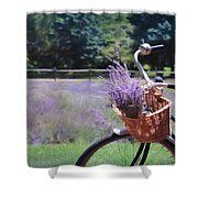 Sweet Ride Shower Curtain