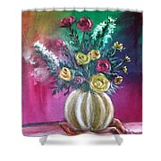 Sweet Roses Shower Curtain