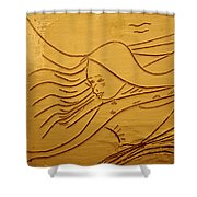 Sweet Sounds - Tile Shower Curtain