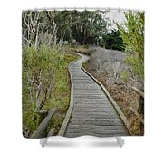 Sweet Springs Nature Preserve Shower Curtain