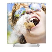 Sweet Taste Of Success Shower Curtain