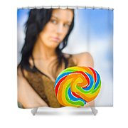 Sweet Thing Shower Curtain