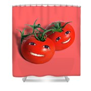 Sweet Tomatoes Shower Curtain