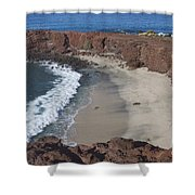 Sweetheart Beach Shower Curtain