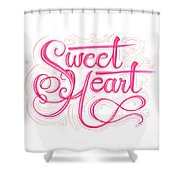 Sweetheart Shower Curtain by Cindy Garber Iverson