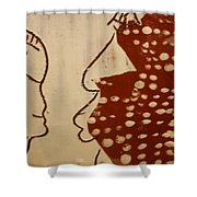 Sweethearts 10 - Tile Shower Curtain