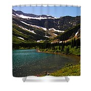 Swift Current Lake Shower Curtain