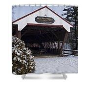 Swift River Bridge Conway New Hampshire Shower Curtain