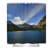 Swiftcurrent Lake - Glacier Np Shower Curtain