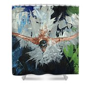 Swimmers Harmony Shower Curtain