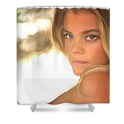 Swimsuit '17 Shower Curtain