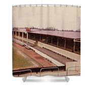Swindon - County Ground - Main Stand 1 - 1970 Shower Curtain