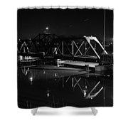 Swing Bridge Too Shower Curtain