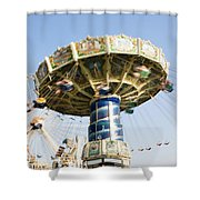 Swing Ride Shower Curtain