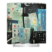 Swing Shift Shower Curtain