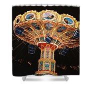 Swing Shower Curtain by Steve Karol